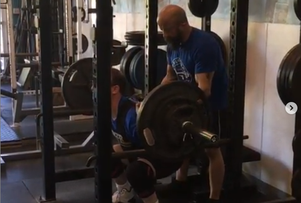 3 Weeks out for my Special Olympic Athlete, CJ Piantieri