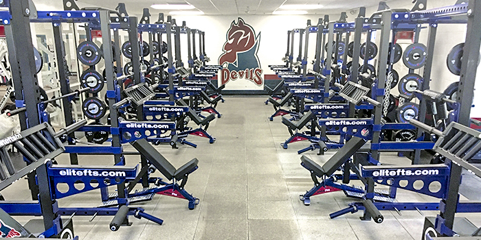 Getting A Bigger and Better Weight Room on A Small-School Budget