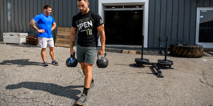 Loaded Carries for CrossFit Athletes