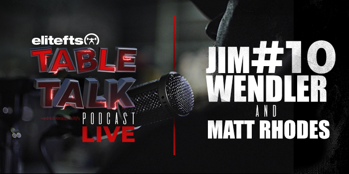 LISTEN: Table Talk Podcast #10 with Jim Wendler and Matt Rhodes