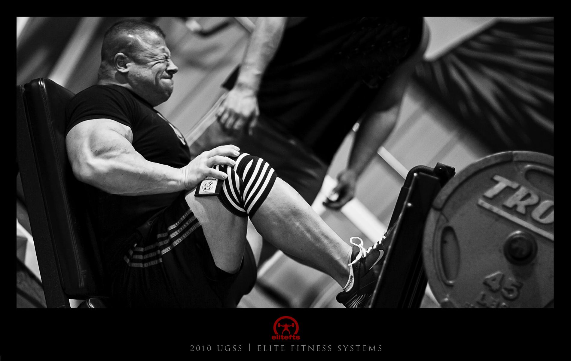 Monday Lower Body Training