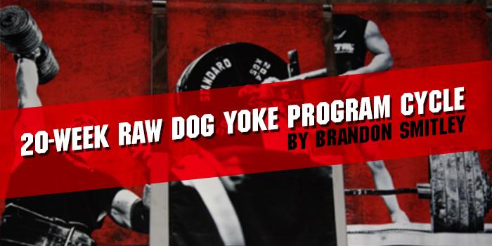 20-Week Raw Dog Yoke Program Cycle