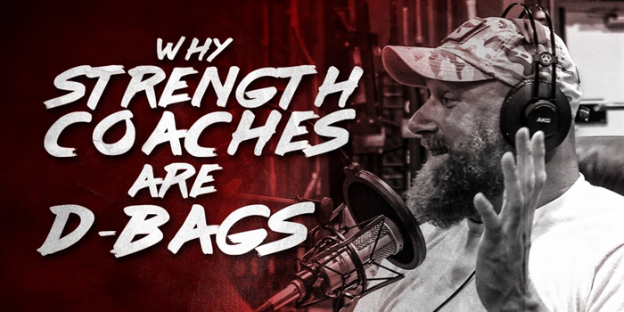 LISTEN: Table Talk Podcast Clip — Why Strength Coaches are D-Bags