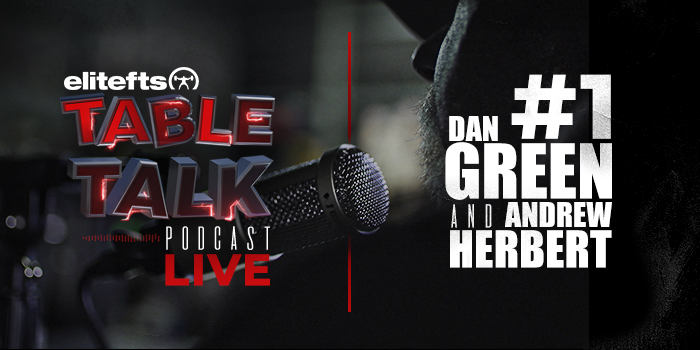 LISTEN: Table Talk Podcast #1 with Dan Green and Andrew Herbert