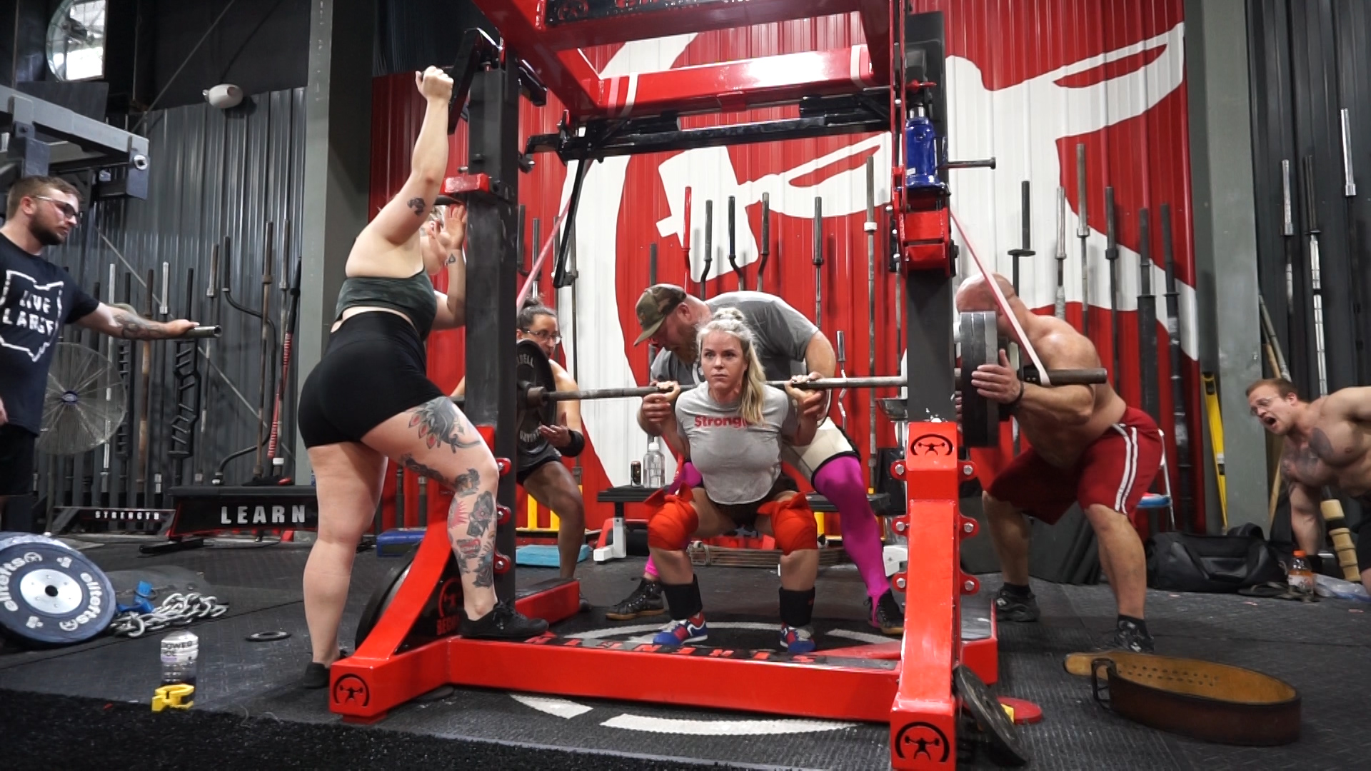 Training at EliteFTS Day Three - Squats