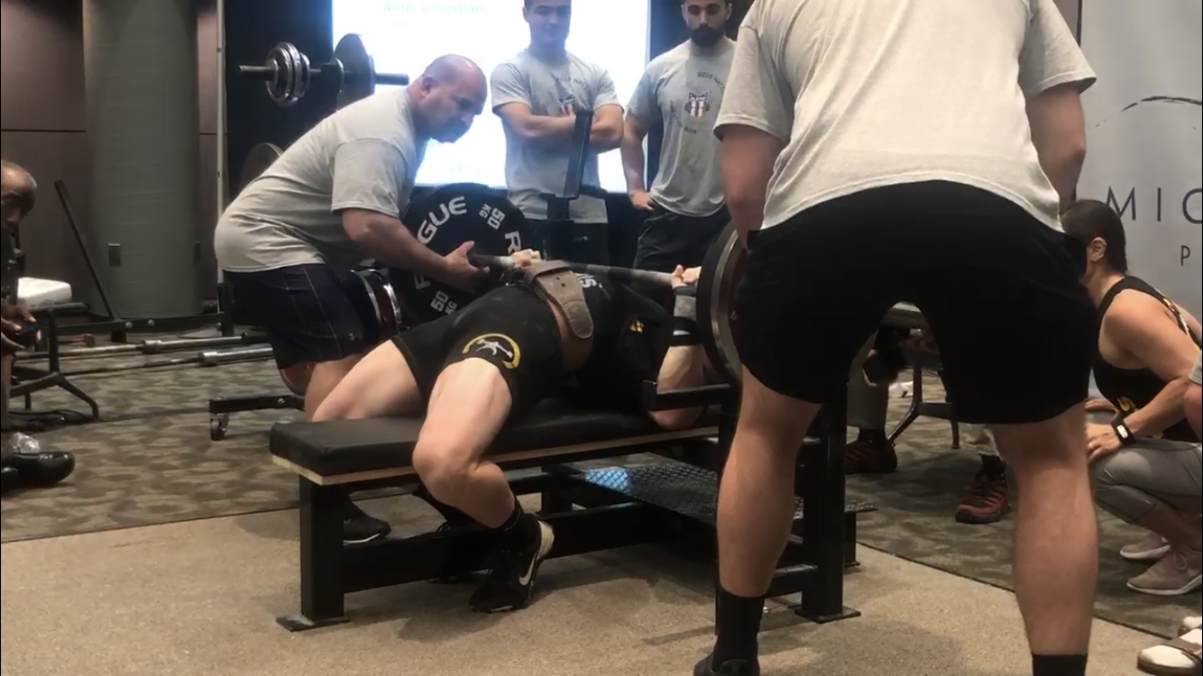 Peak Wk4: well, I was able to bench...