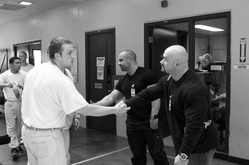 Meeting Inmates