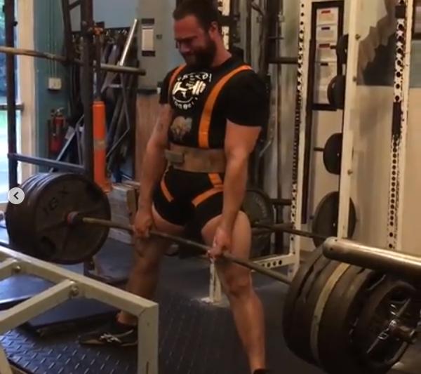 My training partner Stephen keeps getting stronger