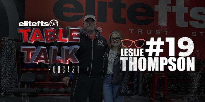 LISTEN: Table Talk Podcast #19 with Leslie Eiler Thompson