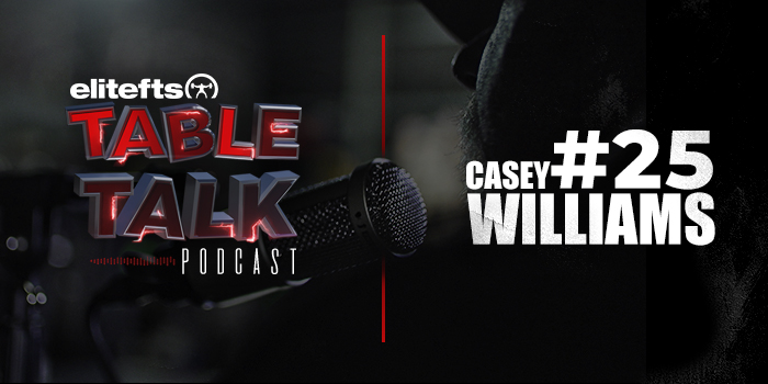 LISTEN: Table Talk Podcast #25 with Casey Williams