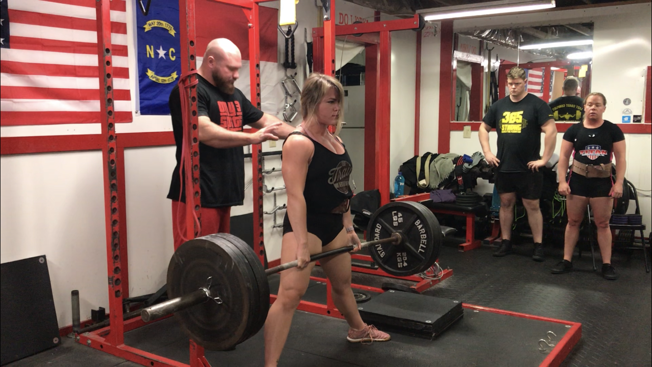 Sumo Deadlift - 20 Weeks Out - Block Pulls