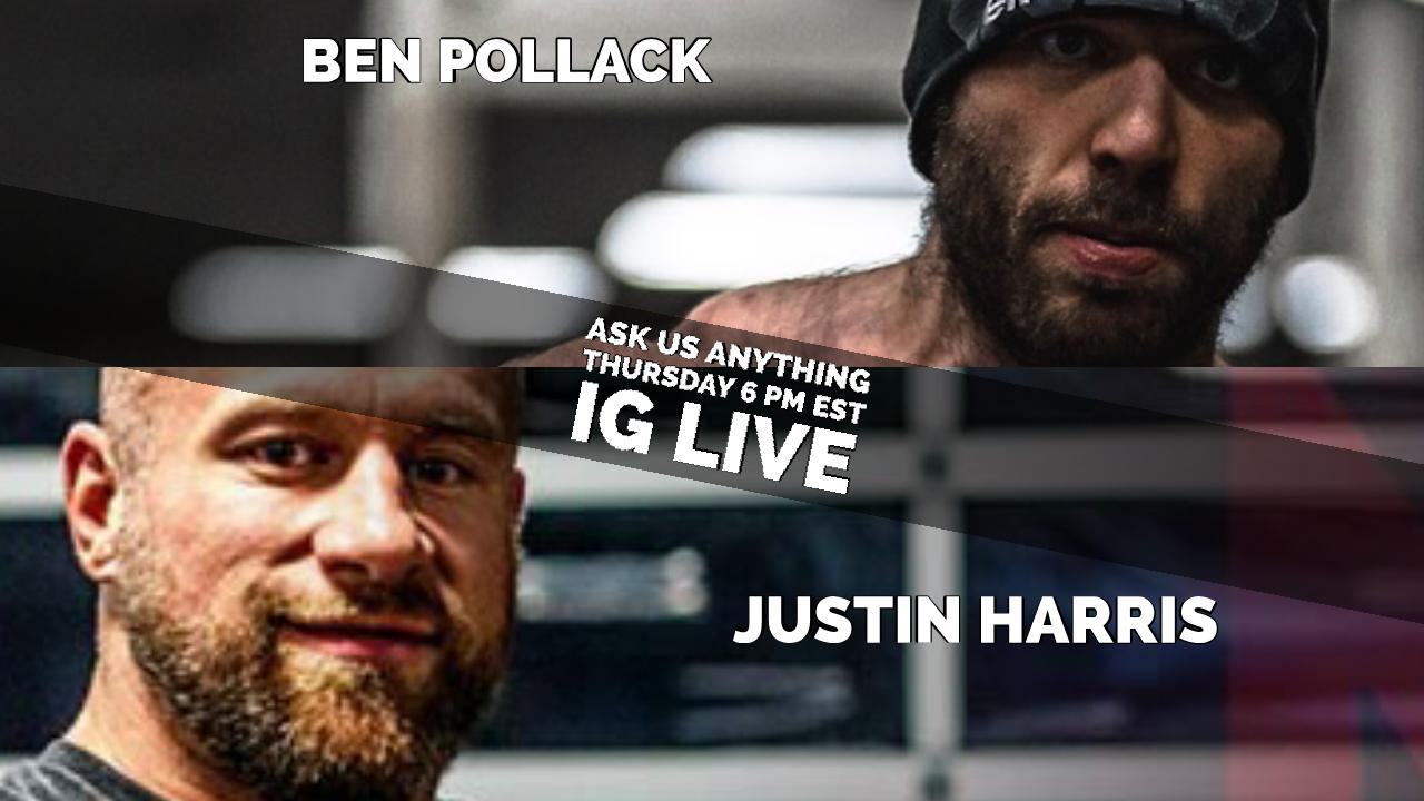 IG Live With Justin Harris & Ben Pollack