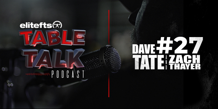 LISTEN: Table Talk Podcast #27 with Videographer Intern Zach Thayer