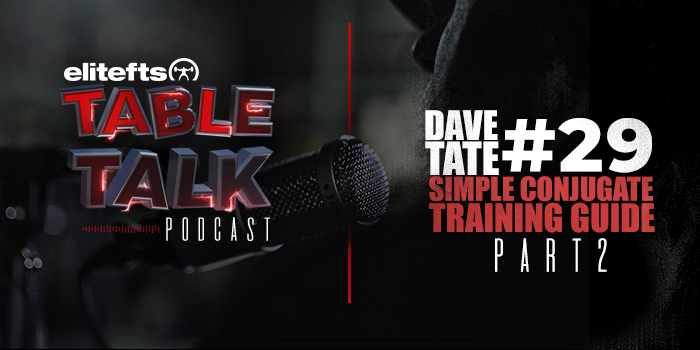 LISTEN: Table Talk Podcast #29 — A Simple and Effective Template for Conjugate Training, Part 2