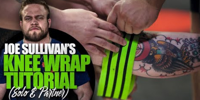 WATCH: Joe Sullivan's Knee Wrap Tutorial for Raw Lifters