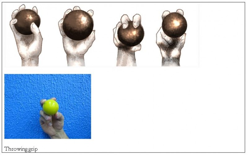 throwing grip