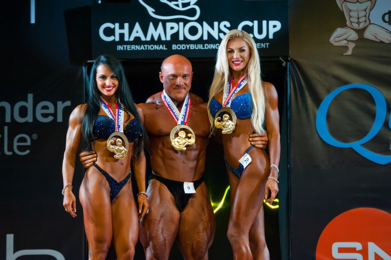 Athletes participate in Bodybuilding Champions Cup