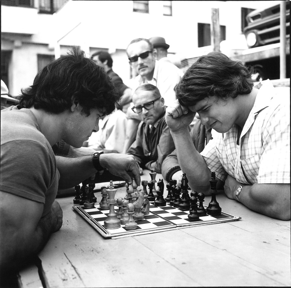 franco and arnold chess photo