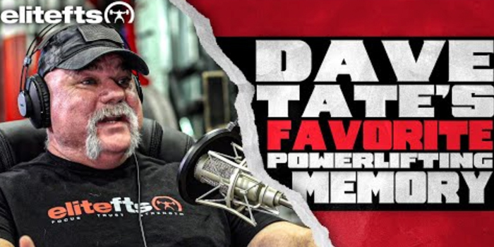 LISTEN: Table Talk Podcast Clip — Dave Tate's Favorite Part of Powerlifting