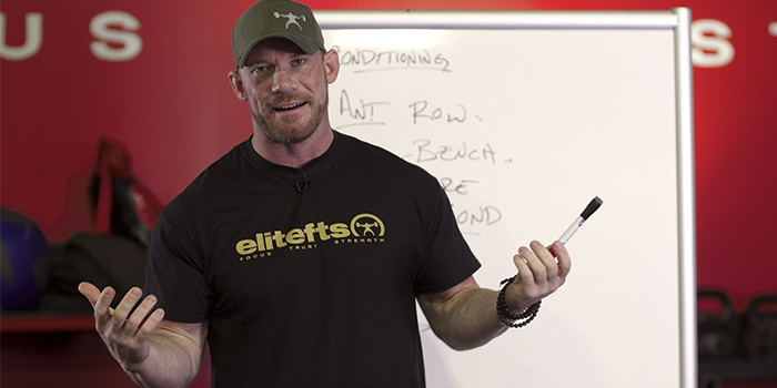 WATCH: The Method Behind Brian Alsruhe's Training [Whiteboard Edition]