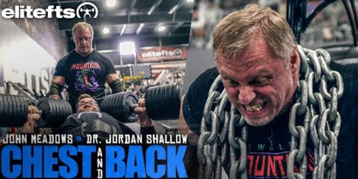 WATCH: John Meadows and The Muscle Doc Train Back and Chest