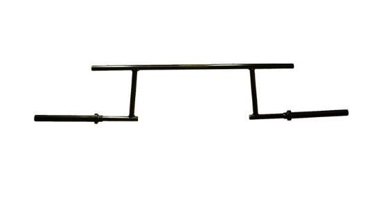 Low Box Cambered Bar Squat