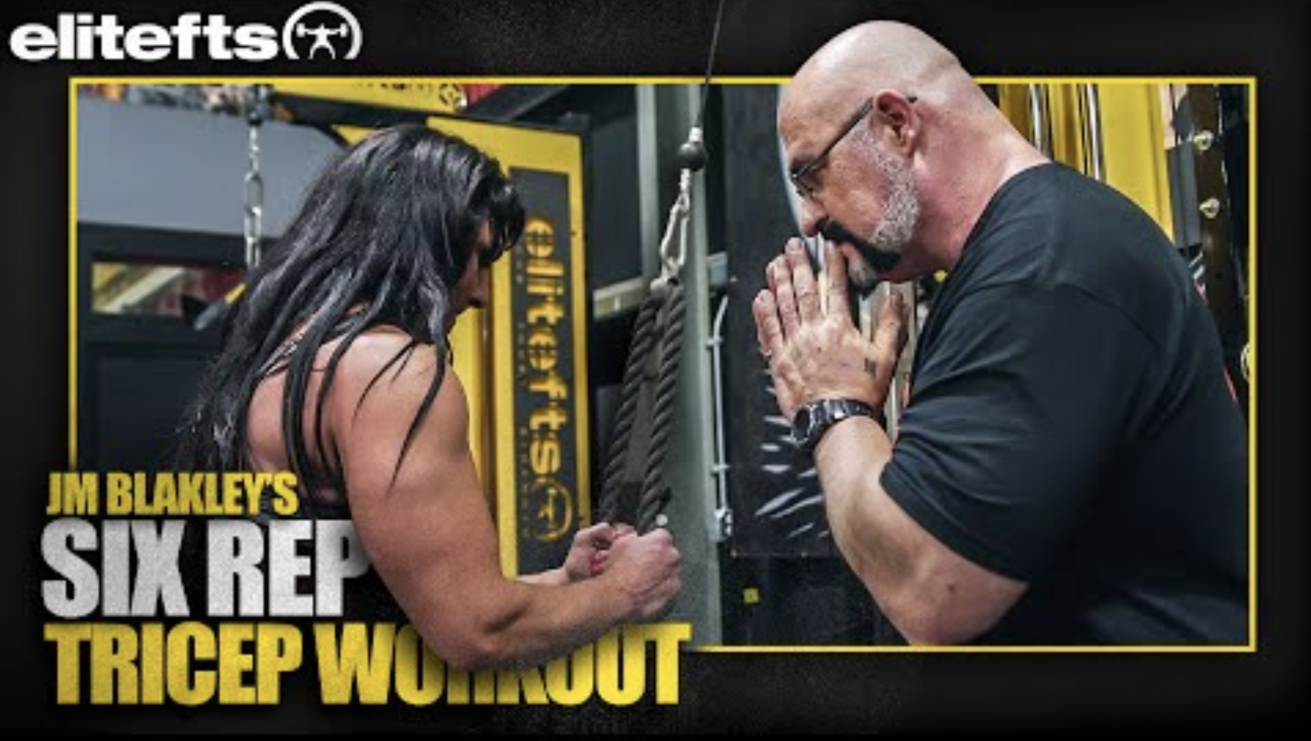 WATCH: JM Blakley's Ultimate 6-Rep Triceps Workout
