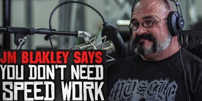 LISTEN: Table Talk Podcast Clip – JM Blakley Challenges the Idea of Speed Work in Powerlifting Progression
