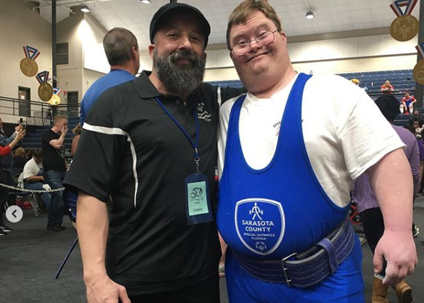 Congratulations to my buddy Robbie Dixon on his Special Olympics Southeast Meet Results