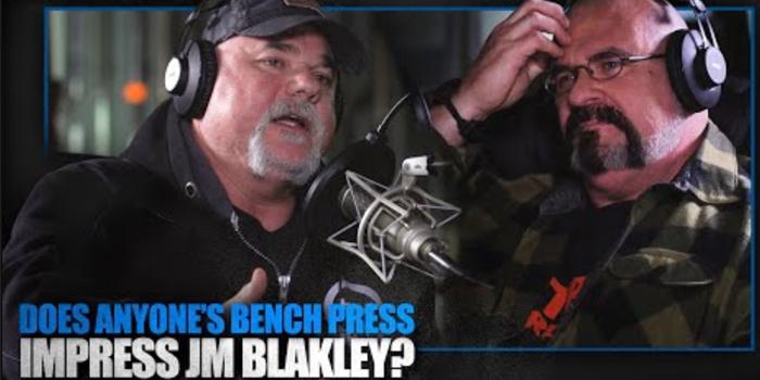 LISTEN: Table Talk Podcast Clip — Does Anyone's Bench Press Impress JM Blakley?