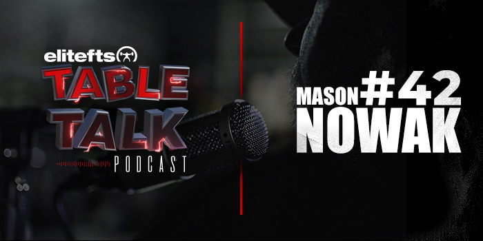LISTEN: Table Talk Podcast #42 with Mason Nowak