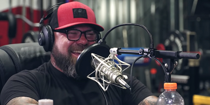 LISTEN: Table Talk Podcast Clip — Dizenzo Gains 28 Pounds in 24 Hours and Wendler Makes Fun of Him