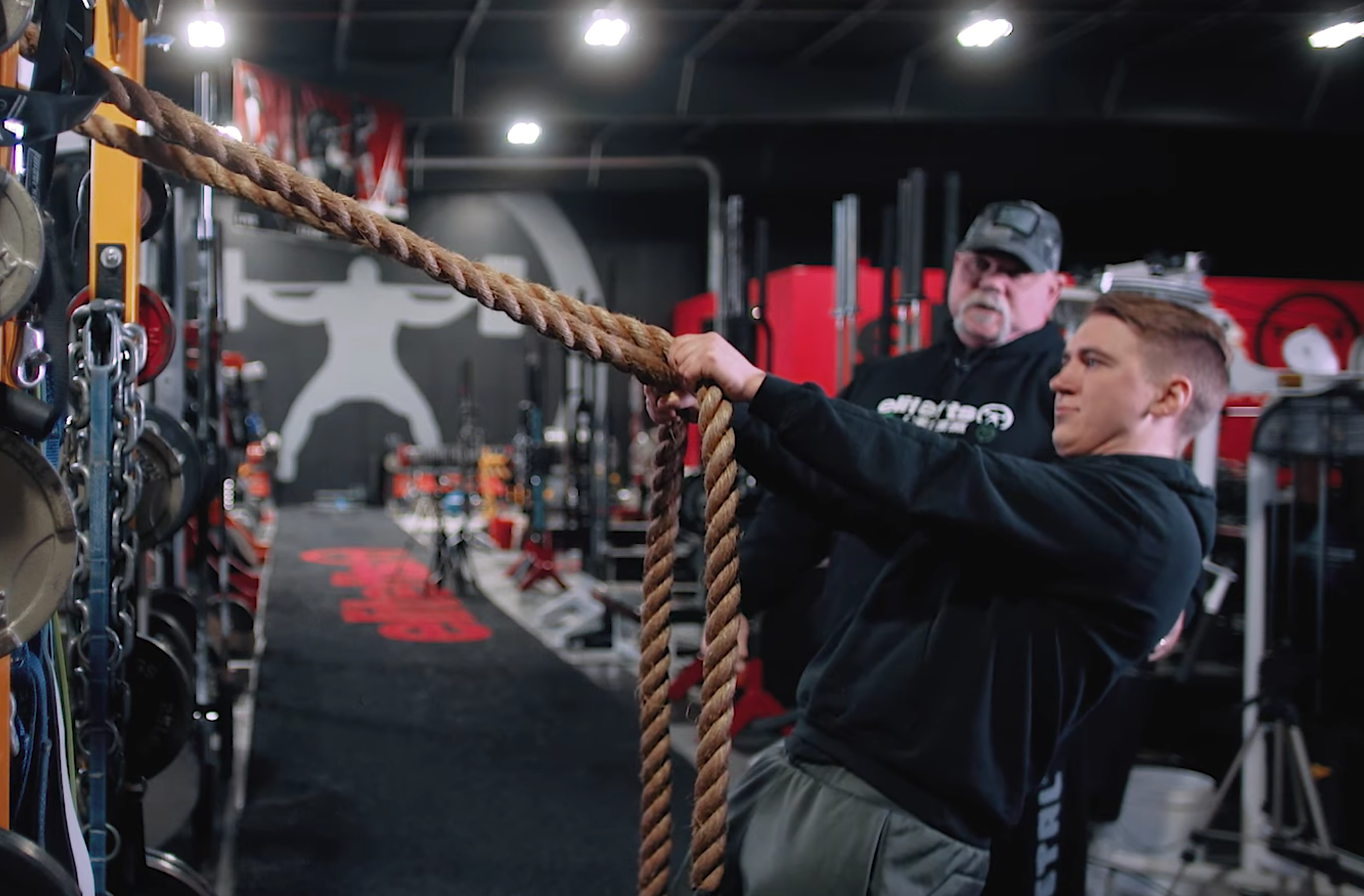 Finisher Friday: Upper Back Rope Rampage