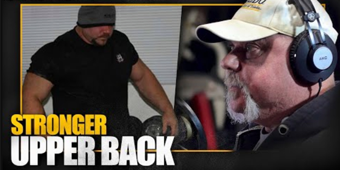 LISTEN: How to Build Upper-Back Strength For a Bigger Squat and Bench Press