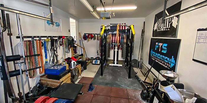 Scott Paltos' Ever-Expanding Home Gym