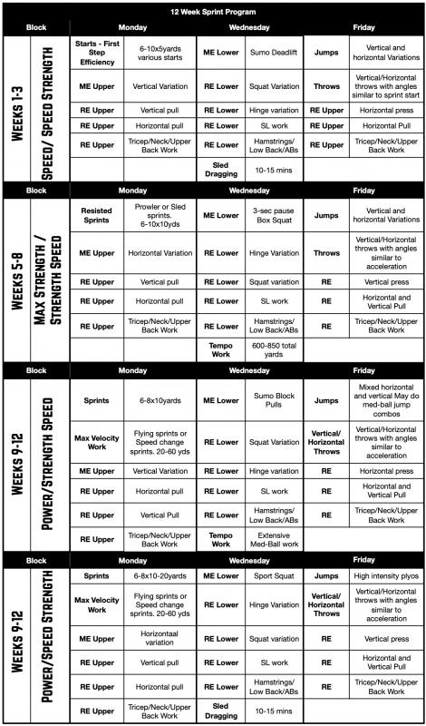 sprint-program