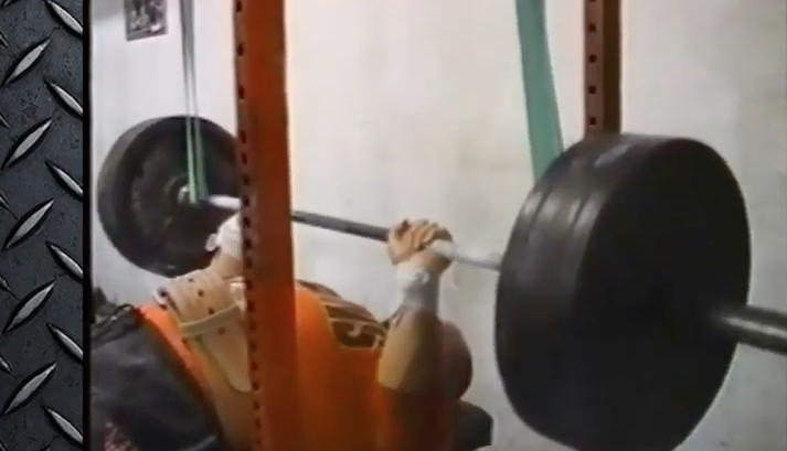 Max Effort Bench Day At WSBB - Early 2000's