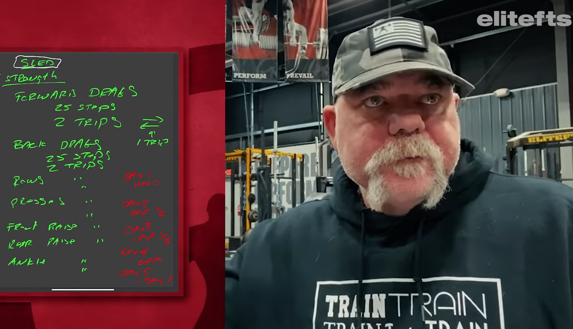 Dave Tate's Dragging Sled Workout for the Powerlifter