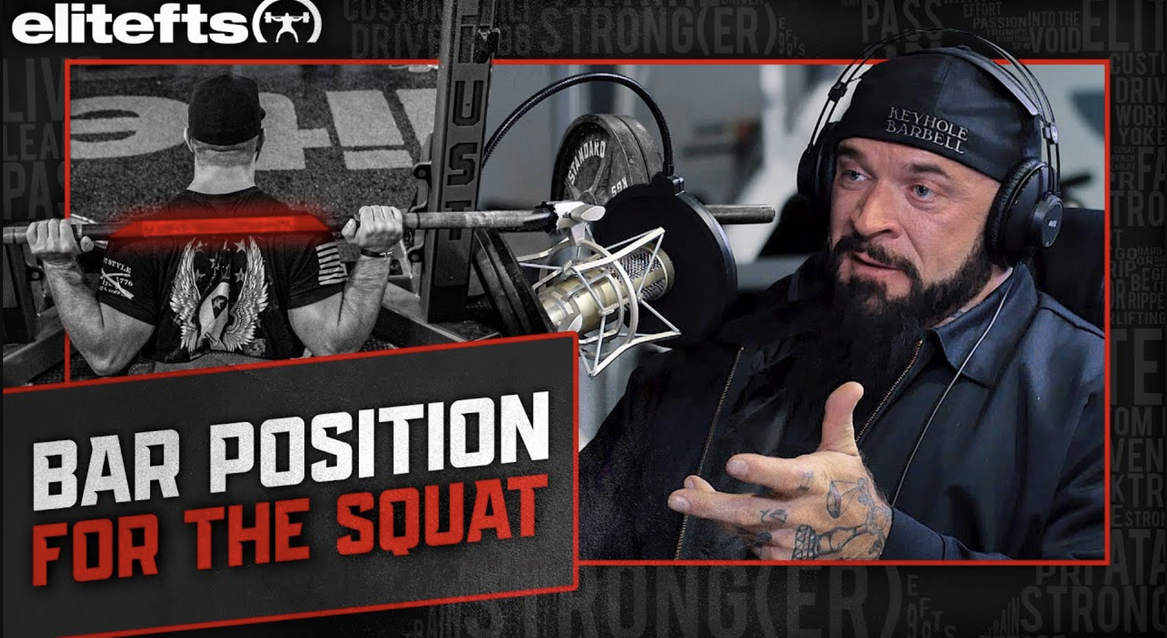 LISTEN: Table Talk Podcast Clip — Swede Burns & Dave Tate Discuss Bar Position For The Squat