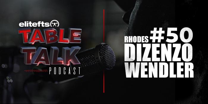 LISTEN: Table Talk Podcast #50 with Vincent Dizenzo, Matt Rhodes, and Jim Wendler