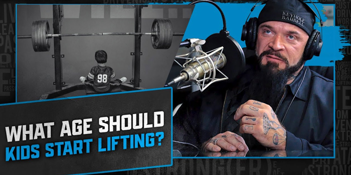 LISTEN: Table Talk Podcast Clip — What Age Should Kids Start Lifting Weights?