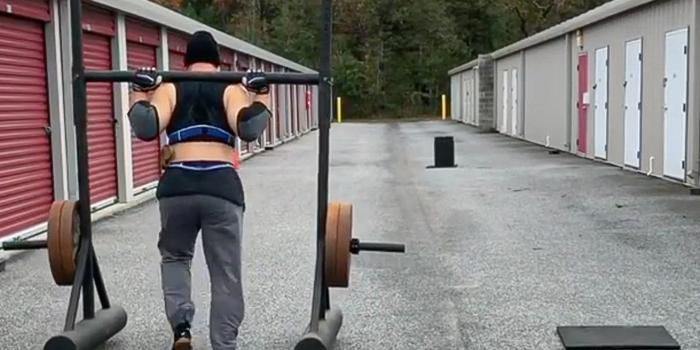 Storage Unit Training for Strongman