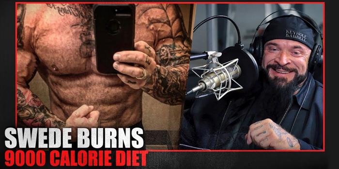 LISTEN: Table Talk Podcast Clip — Swede Burns Talks About His 9000-Calorie Diet