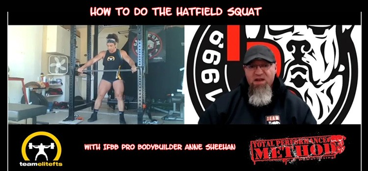 How to Do the Hatfield Squat with IFBB Pro Bodybuilder Anne Sheehan