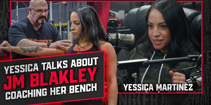 LISTEN: Table Talk Podcast Clip — Yessica Martinez Discusses JM Blakley Coaching Her Bench Press