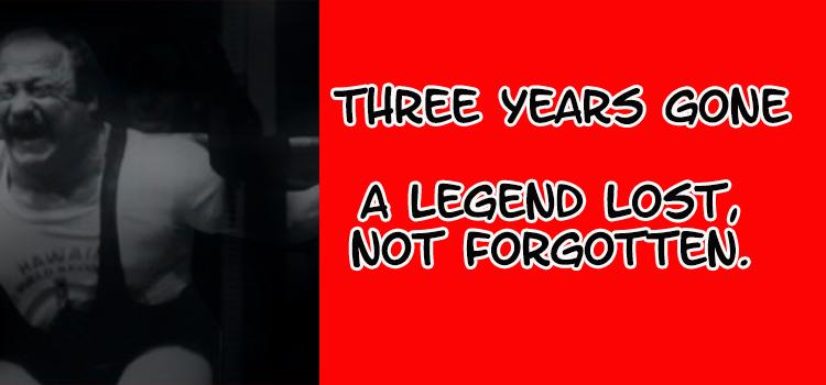 Three Years Gone