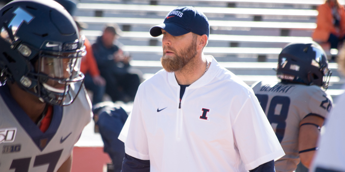 INTERVIEW: Fighting Illini Football Assistant S&C Coach Micah Cloward