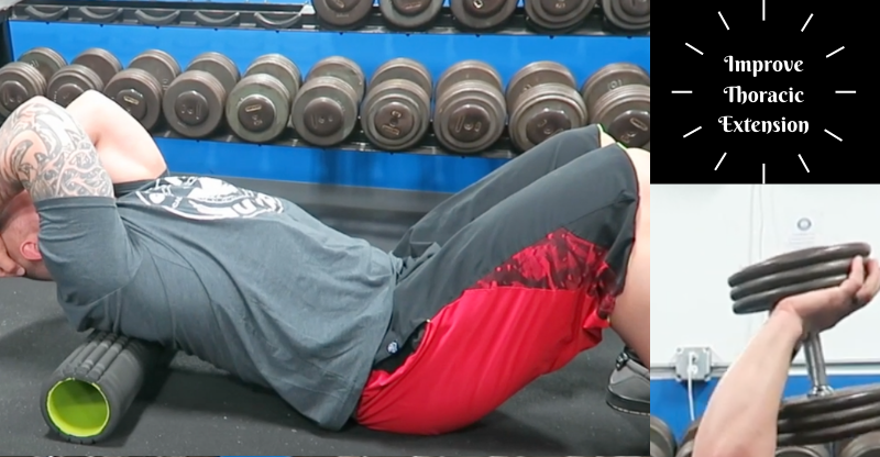 Improve Thoracic Extension with These Drills
