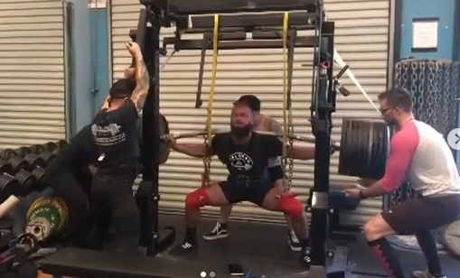 The return of equipped lifting, continued….