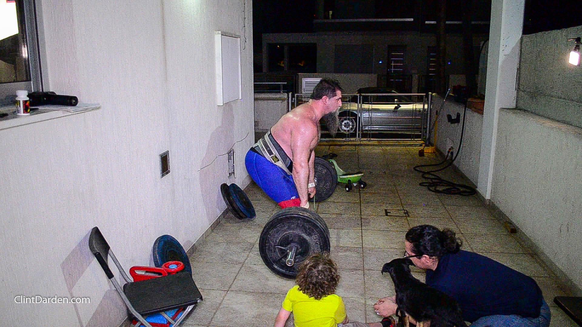 New Deadlift Bar and Midnight Family Training